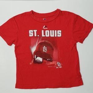 Majestic St Louis Cardinals tshirt